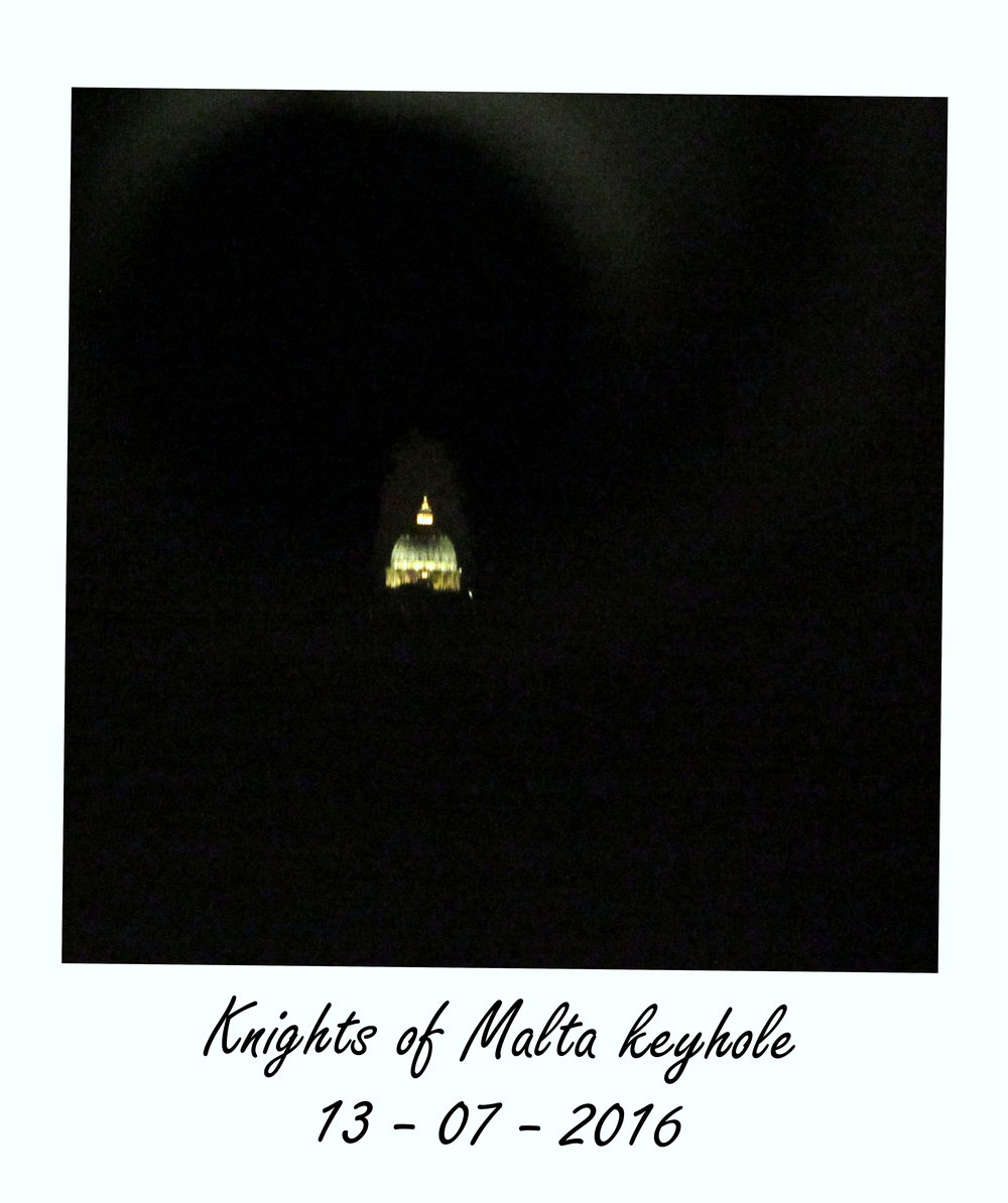 knights of malta keyhole rome attractions