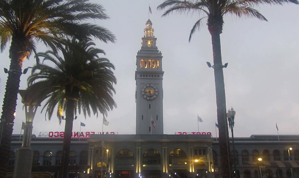 The Ferry Building, Embarcadero.