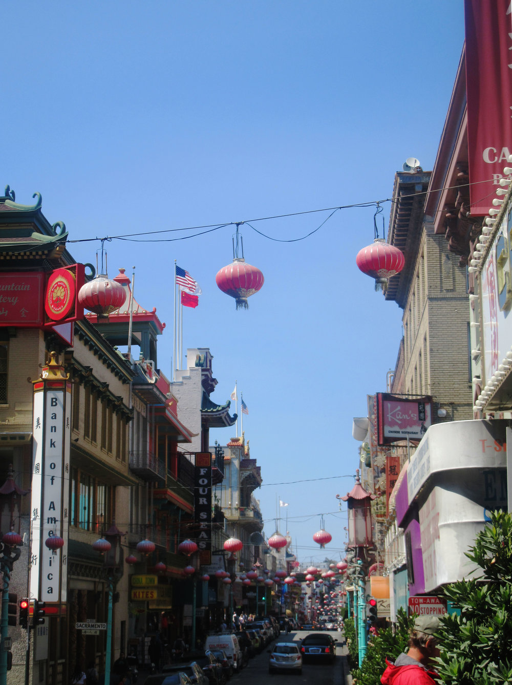 Chinatown San Francisco lanterns