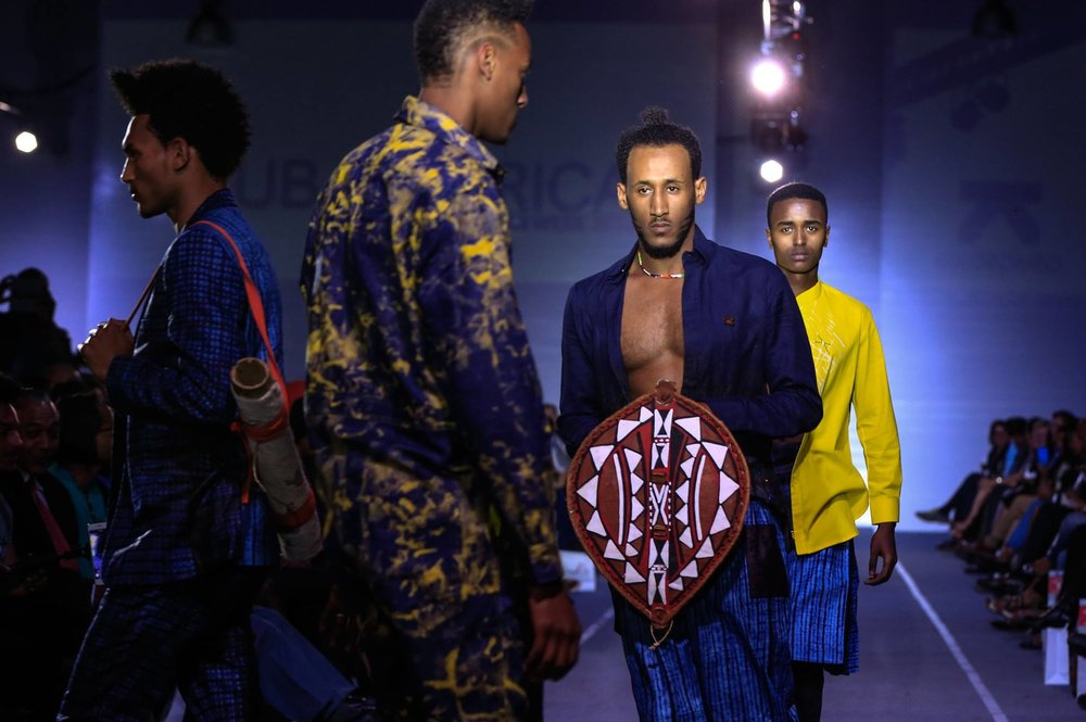 kiko romeo hub of africa fashion week runway