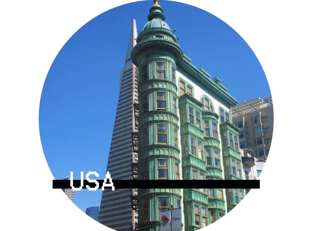 frame ambition travel USA
