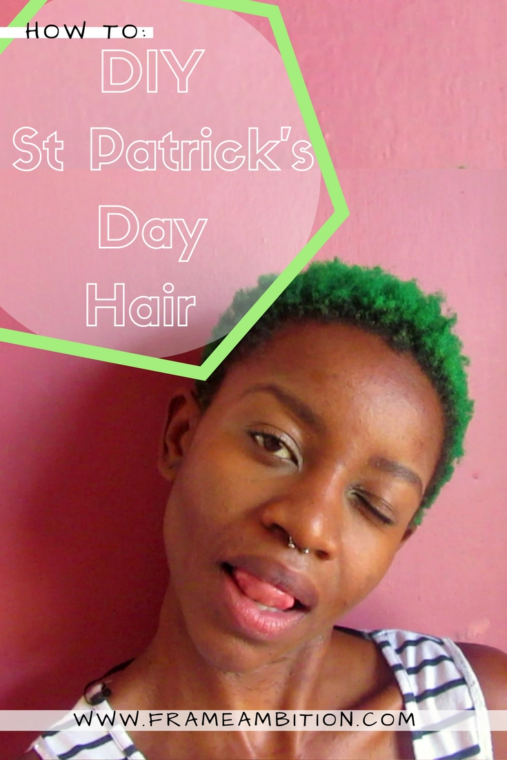 PIN IT! DIY food colouring green hair dye