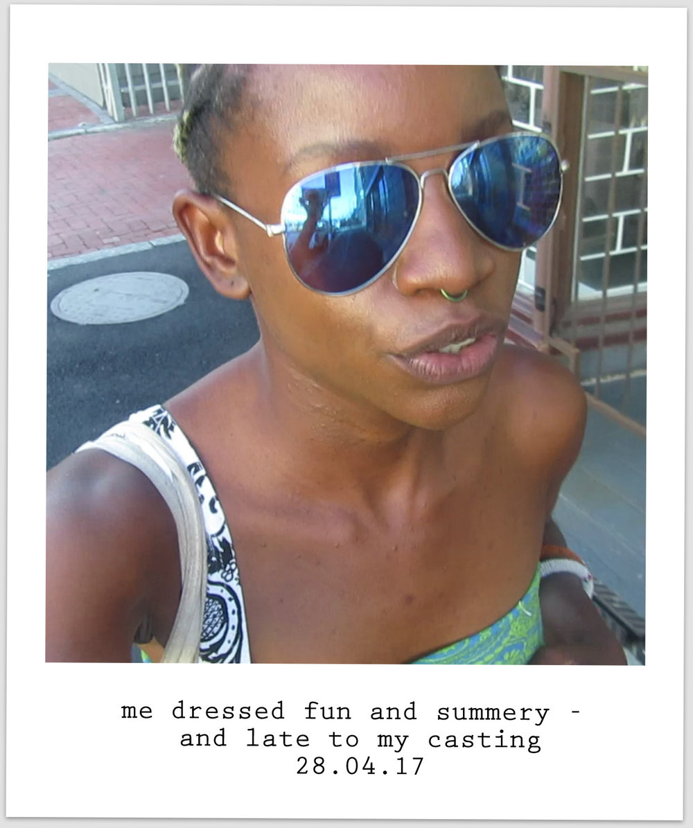 BOS ice tea model casting cape town frame ambition