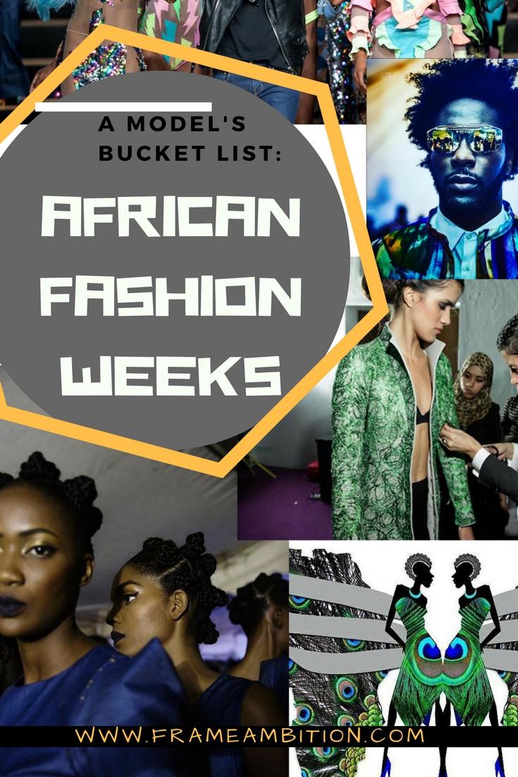 African Fashion Weeks: A Bucket List