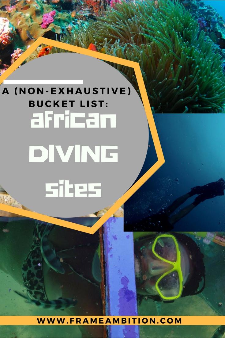 Scuba Diving in Africa: A Bucket List