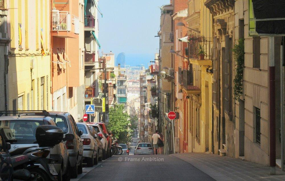 W Hotel Barcelona Street ocean view
