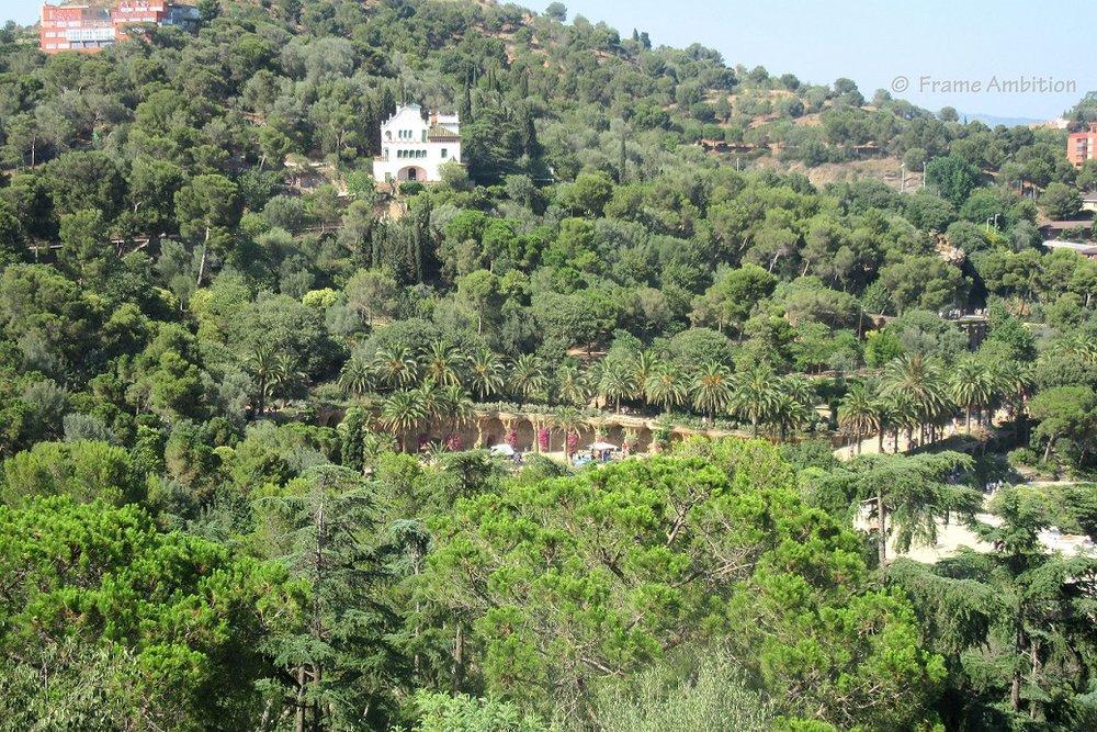 Parc Guel Casa Gaudi Botanical Park.JPG