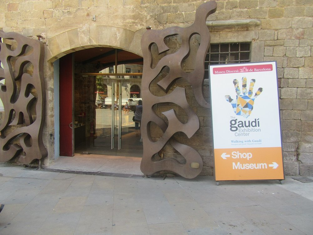 Gaudi exhibition centre Barcelona museum.JPG