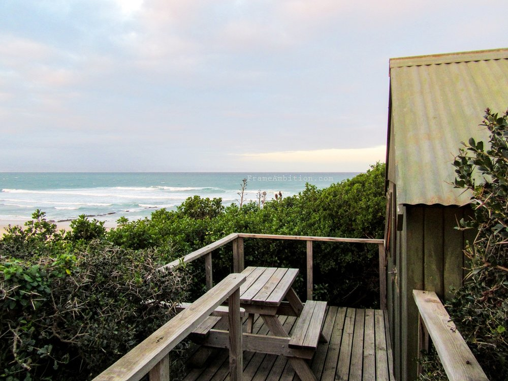 A private beachfront cabin at  Island Vibe Backpackers  - Jeffrey's Bay, South Africa