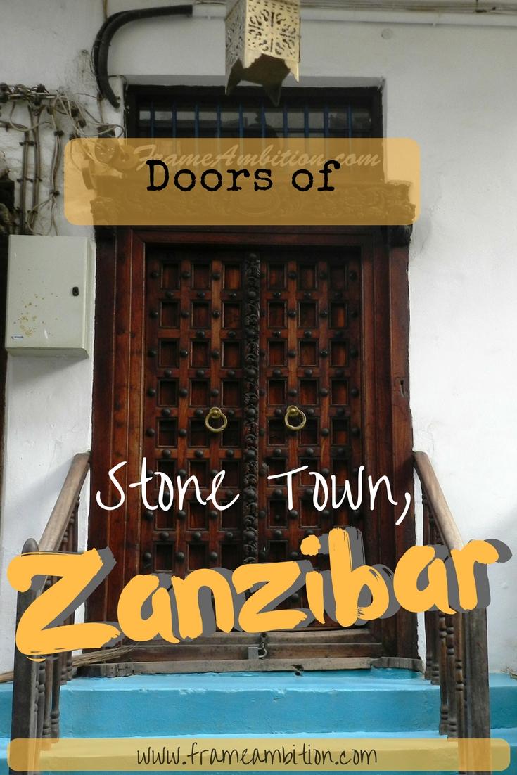 Photo Essay: Doors of Stone Town