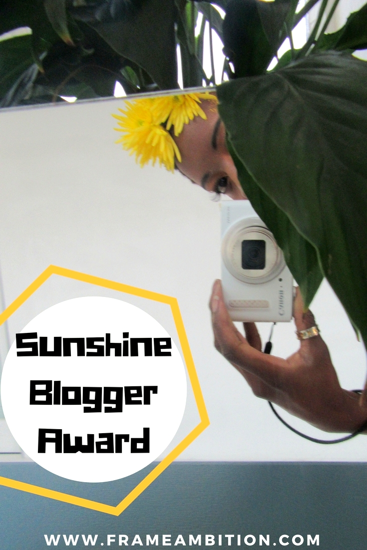 Sunshine Blogger Award: Why I Don't Cry About Whitewashing in Blogging