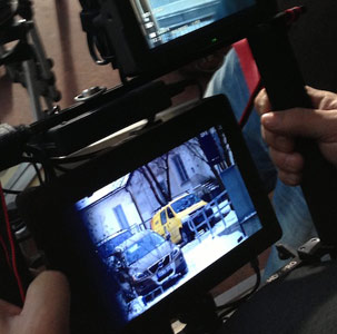 WIRELESS DIRECTOR'S MONITOR