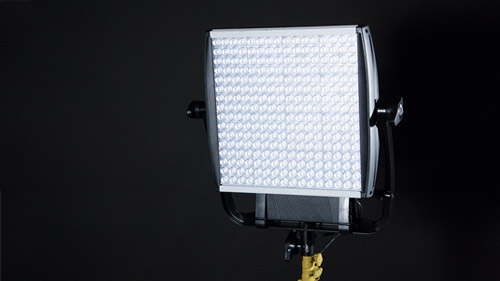 Litepanels' Astra is powerful enough to use outside for fill on a sunny day.