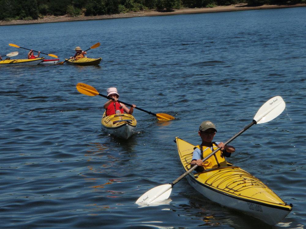 Portland Kayaking 3-day kids camp