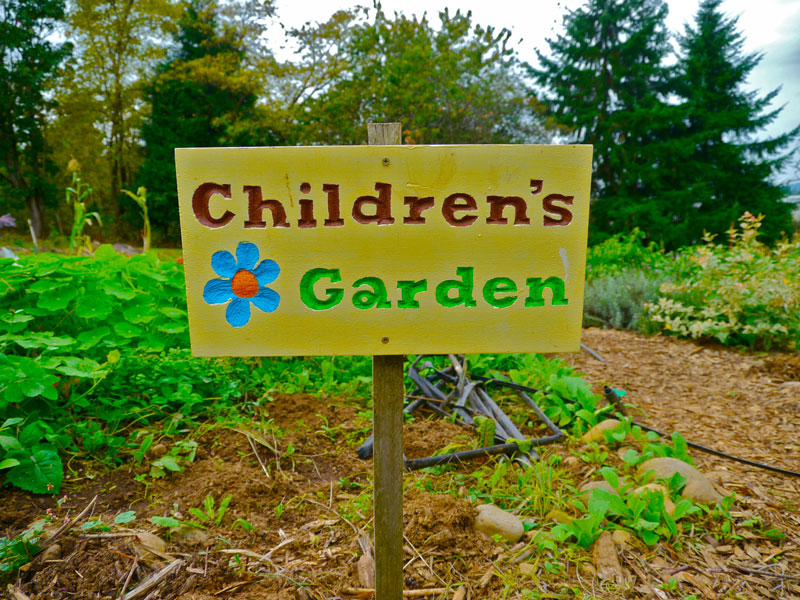 the children's garden at zenger farms