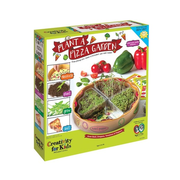 Plant a Pizza Garden, from Creativity for Kids