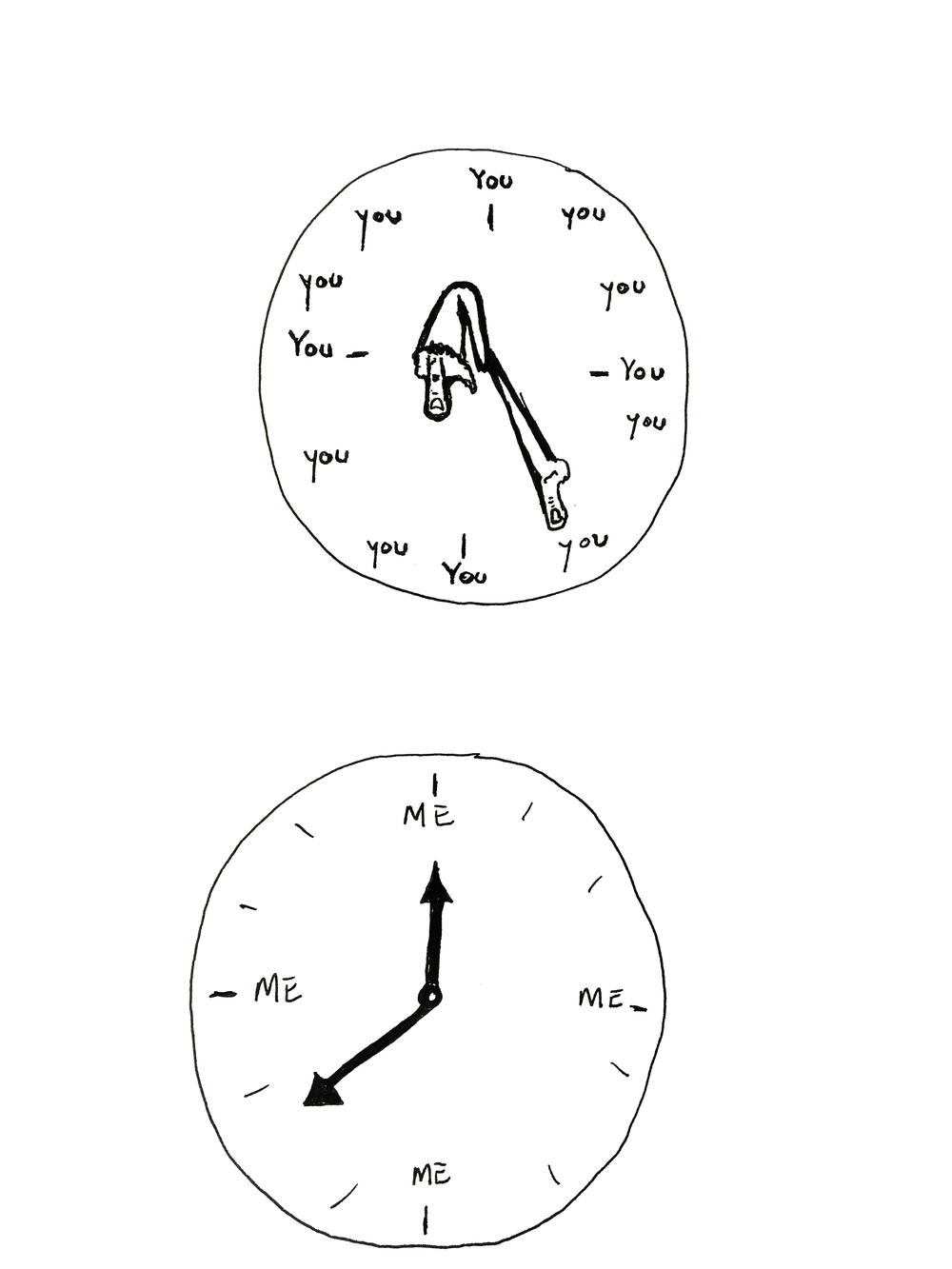 My Clock vs. Your Clock