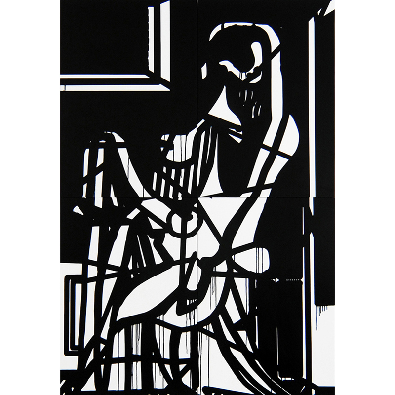 Woman in Armchair (second version)