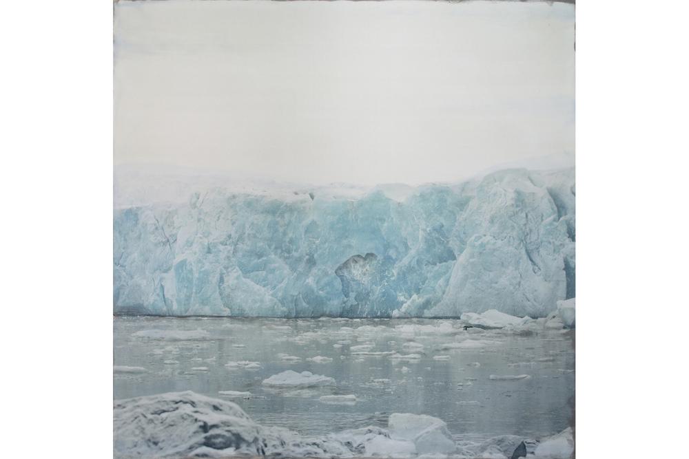 Glacier Terminus, Sveabreen