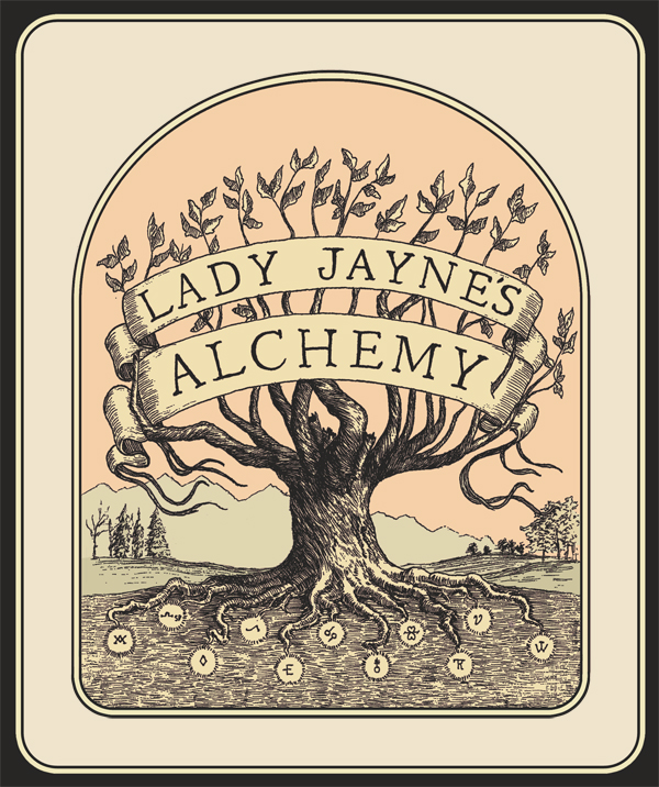 - Lady Jayne's Alchemy is a quaint brand created by Jori Jayne Emde.<<<<<<<<<<>>>>>>>>>>I am a Flavor Maker. My specialties are ferments, scents, bespoke potions / remedies, and Herbal Alchemy all with a focus on terroir. I practices my unique process of Whole Utilization: maximizing the yield from each ingredient through the processes of fermentation, preservation, and extraction.  I am the sole proprietor and producer of all my works
