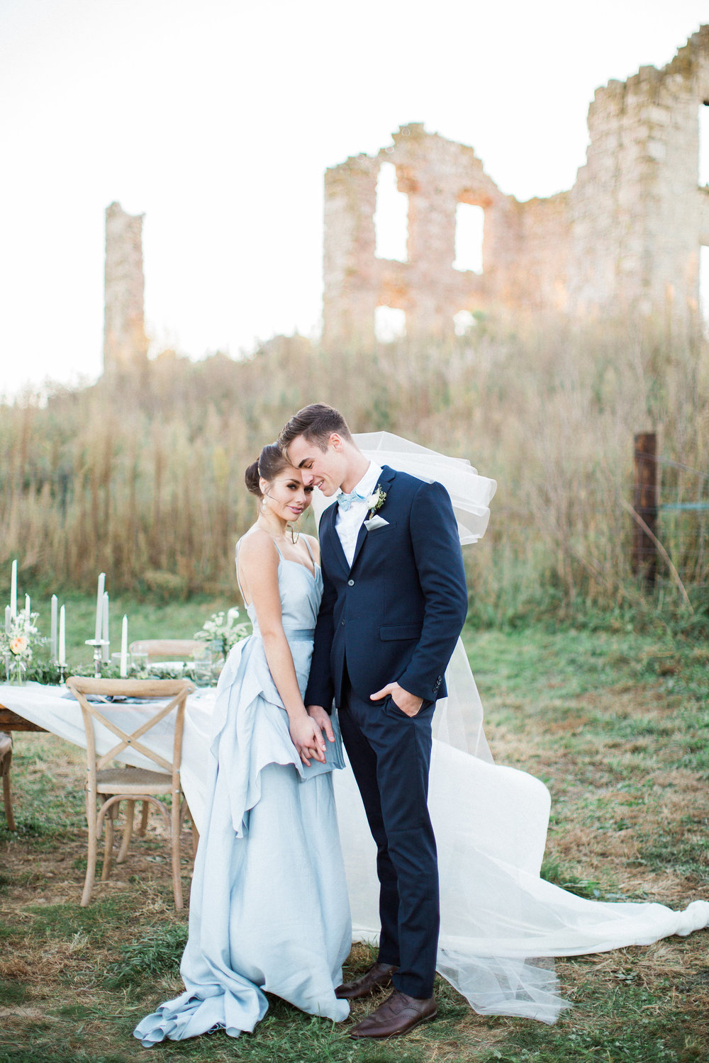 European Ruins Wedding Inspiration
