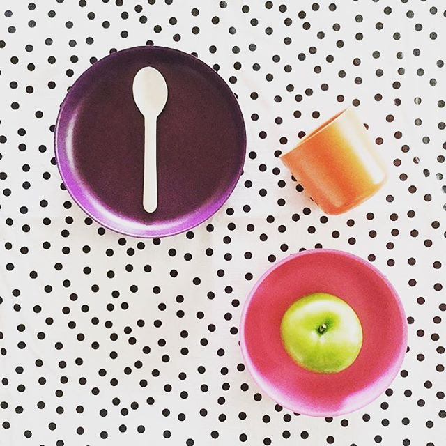 For breakfast, lunch or dinner (or any snack). The super cute #biobu kids tableware! 📷 by @myminiabode