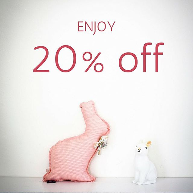 It's on! Let's get ready to welcome June. Enjoy 20% off on all orders. Use code WEEKEND at check out (valid until May 31st).