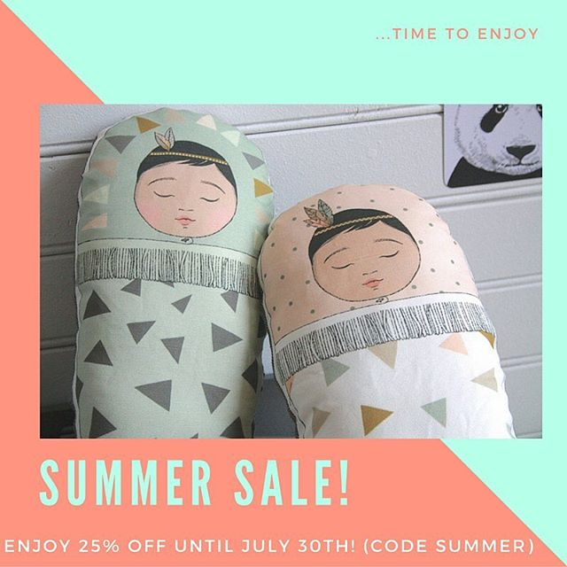 Well hello July! Let's celebrate with our big Summer sale starting today. Enjoy 25% off using code SUMMER (until end of July). Enjoy and spread the word!