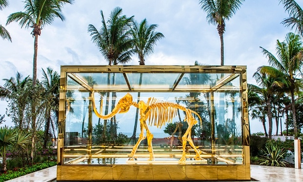 Damien Hirst's Gone but not Forgotten at Faena Hotel Miami Beach