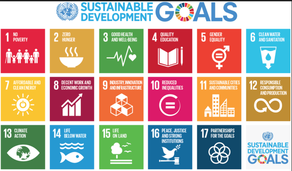 THe un released the sdgs in 2015