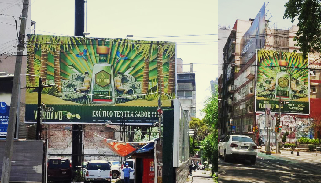More 1800 Billboards in Mexico City.