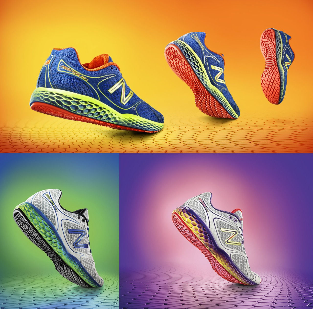End of Last year I shot the  New Balance Fresh Foam running shoes for Arnold World Wide, they are out in the wild now, keep an eye out.