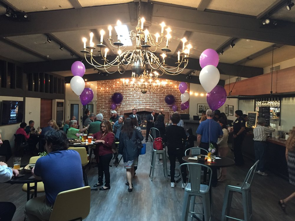 The Commons is a great space for corporate mixers, birthdays, or private events.