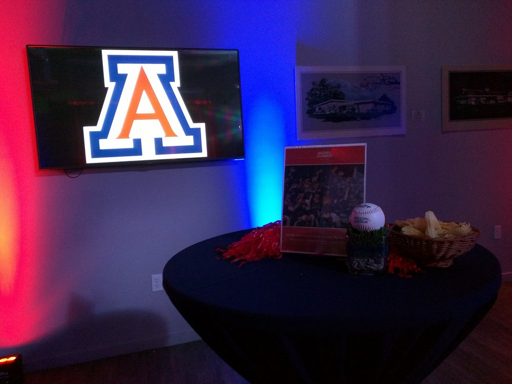 The meeting rooms have seen a variety of guests, including the U of A alumni.