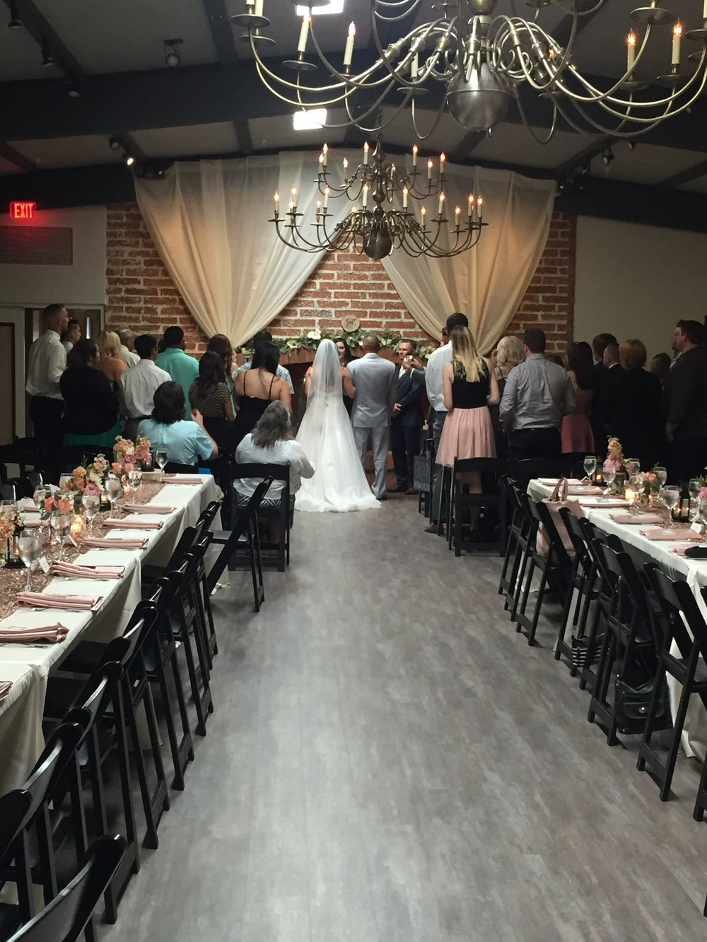 The Commons hosts up to 60 for wedding ceremony and reception.