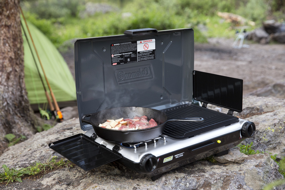 Coleman: Camp Propane Grill/Stove+