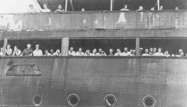 The MS St. Louis was turned away by the US government in 1939.  Many Jews on this boat later died in the Holocaust.  While the situations are not perfectly analogous, there are many similarities.  The nations was gripped in fear of infiltration by those wanting to cause harm.  Outsiders were vilified as a threat.  Those fleeing persecution were seen as a source of possible harm. People were persecuted because of their ethnicity and religion.