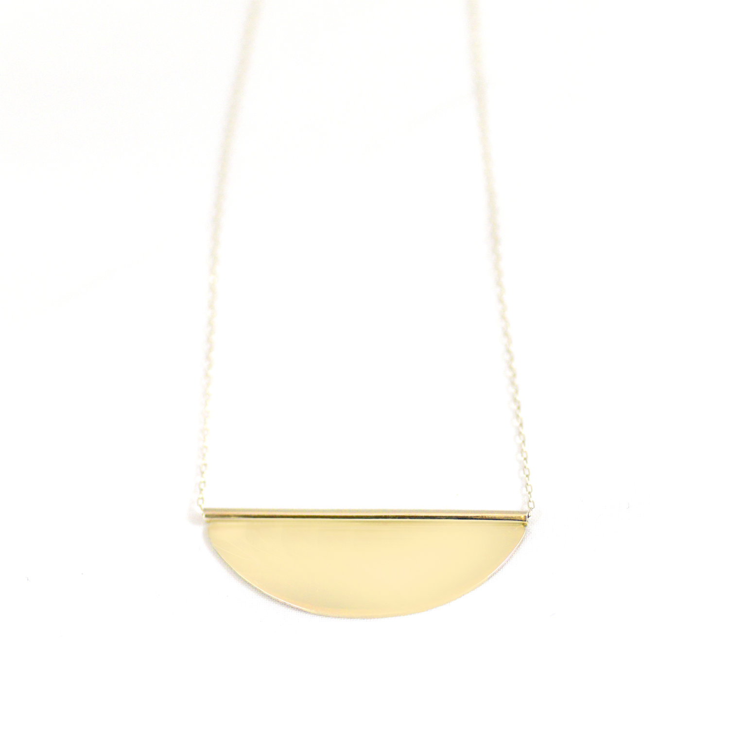 brass pendant abstract img margiela necklace men of products maison s enamel copy black