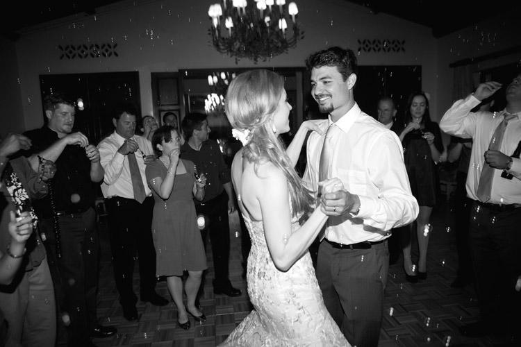 Last dance wedding reception santa barbara