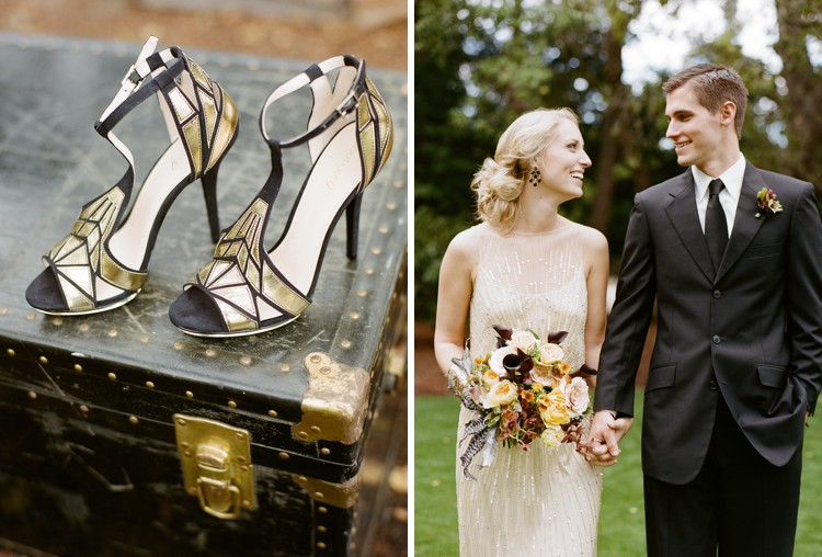 Art Deco Wedding Gowns: Art Deco Wedding Inspiration
