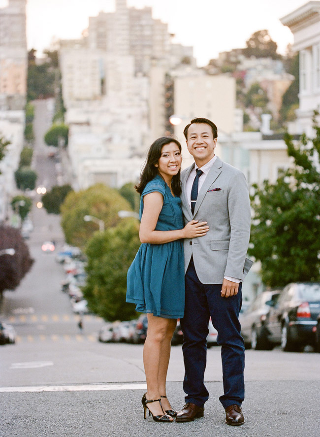 North Beach Engagement Photo