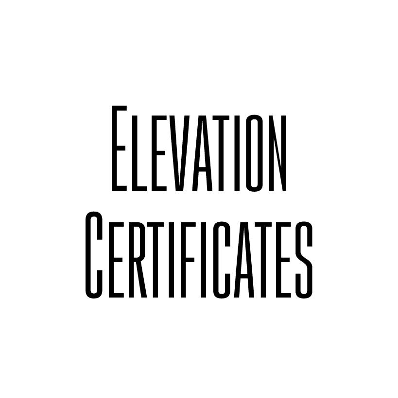 Elevation Certificates In Dewitt Goliad Gonzales Karnes Lavaca