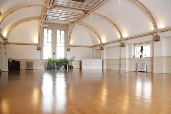 The Interior of Yoga Sanctuary