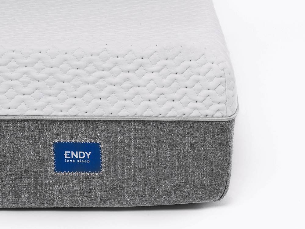 A closeup of the Endy Mattress