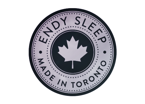 The Endy Mattress is proudly made in Toronto, Canada