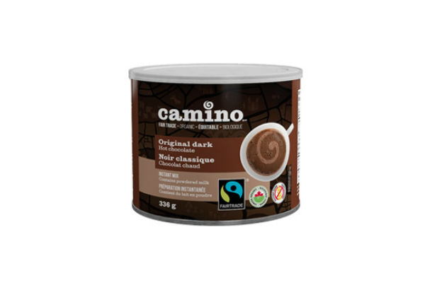 Camino hot chocolate - Curling up with a cup of organic hot cocoa from Camino, a good book, and cozy blanket is the sweetest way to warm when it looks like snow globe outside.Image: camino.ca