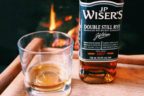 J.P. Wiser - Looking for a faster route to warm up your bones? Some classic Canadian whisky should do the trick.Image: instagram.com/jpwisers