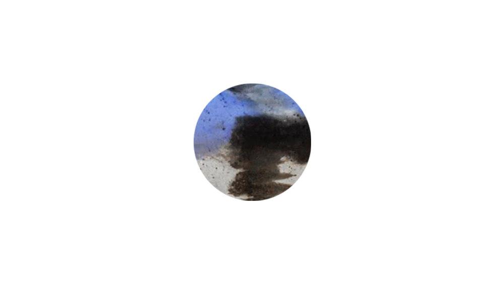ivan    cobalt . charcoal . bone