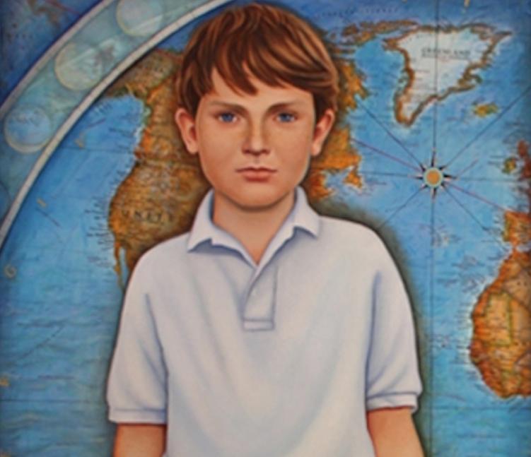 Map Portrait (detail)