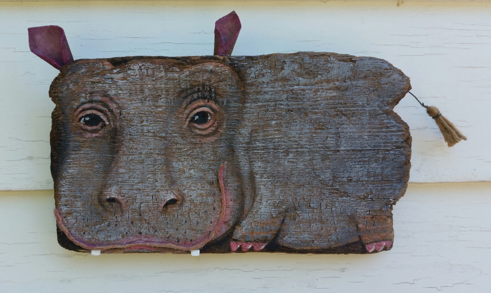Driftwood Hippo  Jun 18 – Jul 2 2016 at Bell Street Gallery